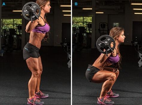 classic barbell squat