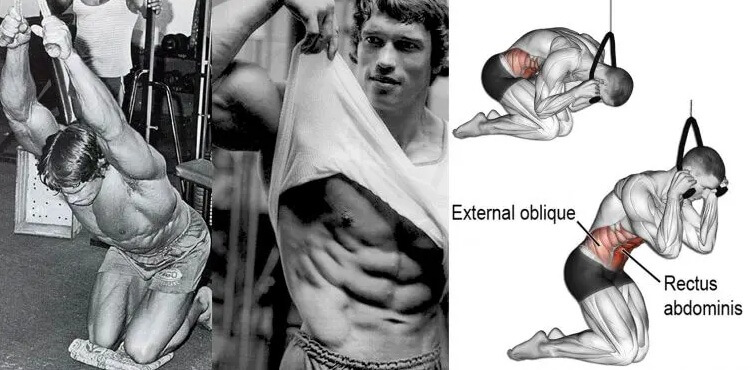 muscles during abs crunches