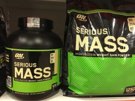 simple carbs mass gainer
