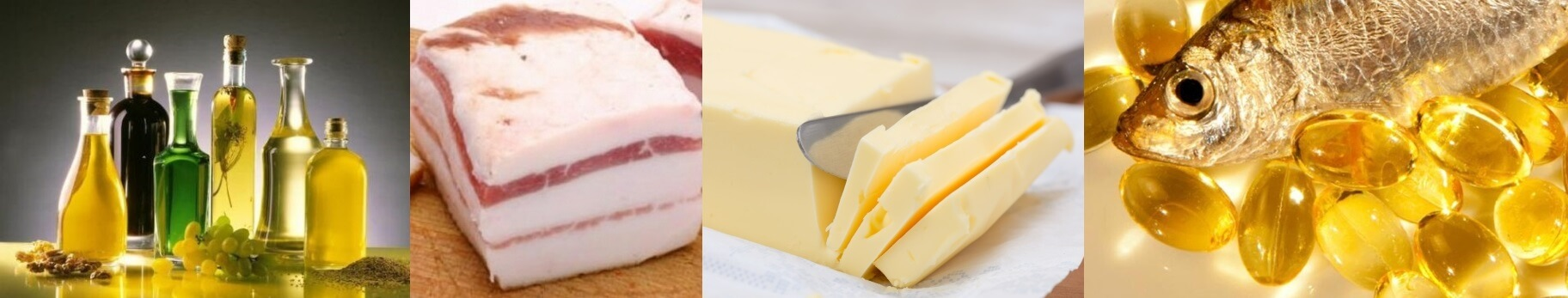 sources of saturated and unsaturated fats