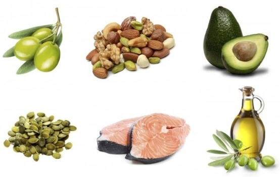 various unsaturated fats