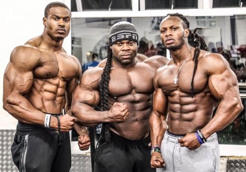 common bodybuilders