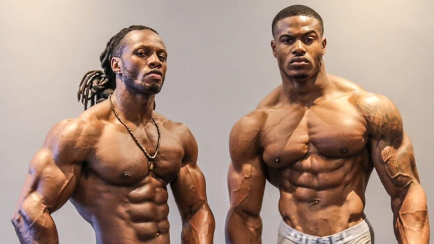 typical bodybuilders