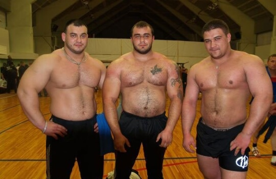 typical powerlifters